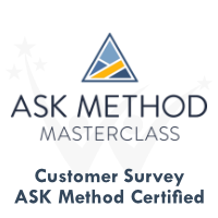 Ask Method Customer Survey Certification by AskMethod