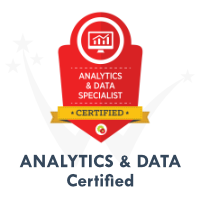 Analytics Data Certification by DigitalMarketer