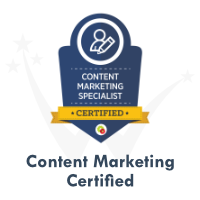 Content Marketing Certification by DigitalMarketer