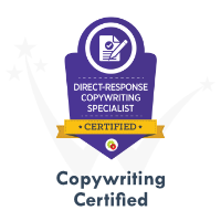Copywrting Direct Response Certification by DigitalMarketer