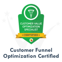 Customer Value Funnel Optimization Certification by DigitalMarketer