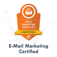 E-Mail Marketing Certification by DigitalMarketer