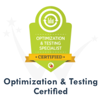 Optimization Testing Certification by DigitalMarketer