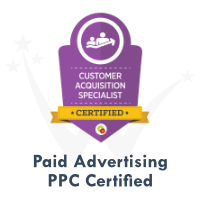 PPC Paid Advertising Certification by DigitalMarketer