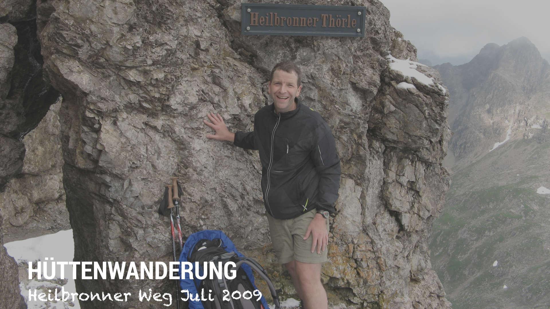 Wandern Heilbronner Weg Heilbronner Thörle - Joachim Auster