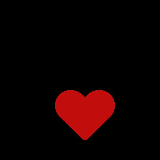 Hand Heart Duotone