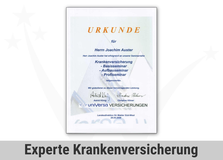 Zert Finance Experte Pkv Privat Krankenversicherungbav Betriebli